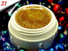 UV Diamond Glittergel Multi Gold 5g Nr.21