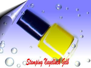 Nail Stamping Lack Gelb 7ml