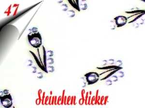 3D Strass Steinchen Sticker Nr.47