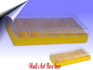 Nail Art Box ~ Sortierbox leer