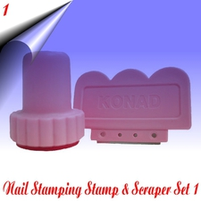 Stamp & Scraper Set 1
