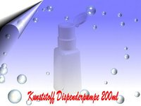 Kunststoff Design-Dispenderpumpe 200ml