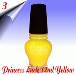 Original Konad Nail Stamping Princess Lack Yellow Nr.3