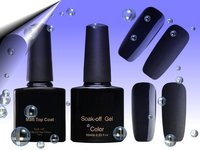 Matt Top Coat & Soak Off Gel Set