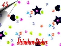 3D Strass Steinchen Sticker Nr.45
