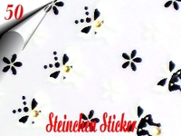 3D Strass Steinchen Sticker Nr.50