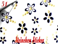 3D Strass Steinchen Sticker Nr.51