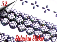 3D Strass Steinchen Sticker Nr.52